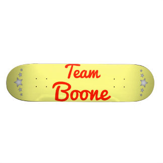 Team Boone Skate Board Deck