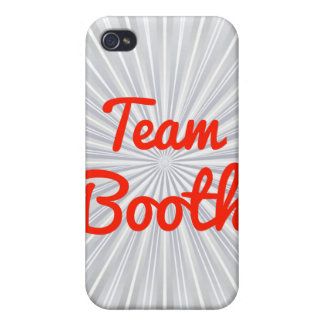 Team Booth iPhone 4/4S Cover
