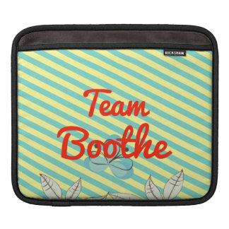 Team Boothe iPad Sleeves