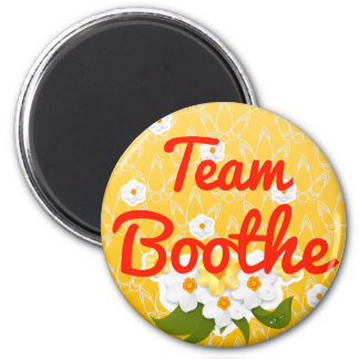 Team Boothe Magnet