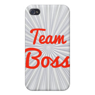 Team Boss Case For iPhone 4