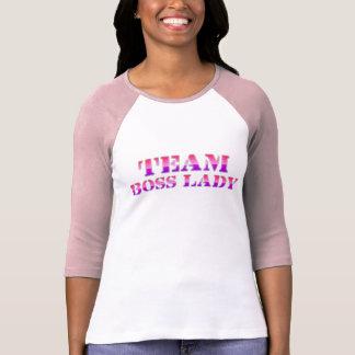 Team Boss Lady Baseball Jersey T-Shirt