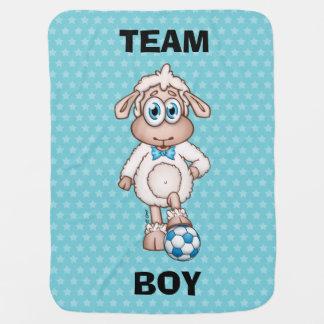 Team Boy Baby Blanket