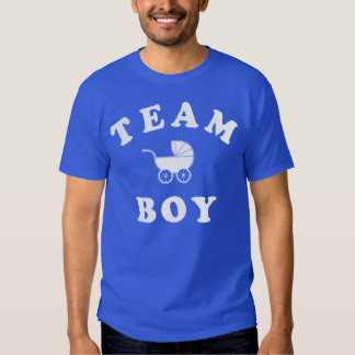 Team Boy Baby Reveal T Shirts