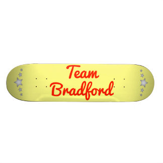 Team Bradford Custom Skateboard