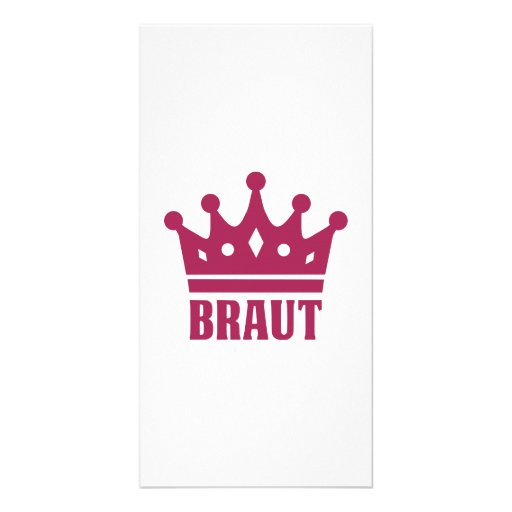 Team Braut Customized Photo Card