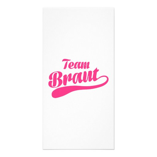 Team Braut Photo Cards