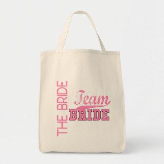 Team Bride 1 BRIDE Canvas Bags