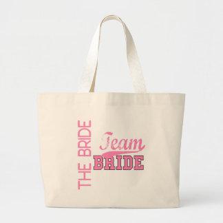 Team Bride 1 BRIDE Jumbo Tote Bag