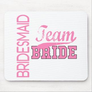 Team Bride 1 BRIDESMAID Mouse Mats