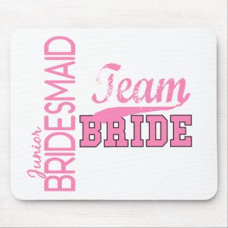 Team Bride 1 JUNIOR JR BRIDESMAID Mouse Pad