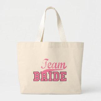 Team Bride 1 Jumbo Tote Bag