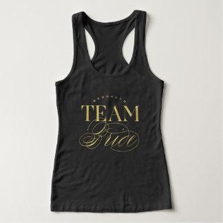 Team Bride Bachelorette Party Custom Name T-shirt