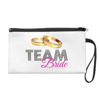 Team bride wristlet