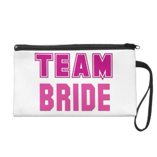 Team Bride Wristlet Clutch