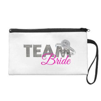 Team bride wristlets