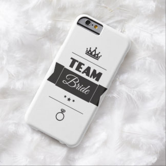 Team Bride Barely There iPhone 6 Case