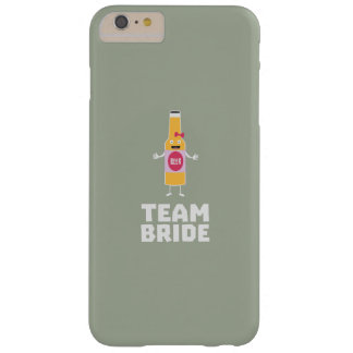 Team Bride Beerbottle Z5s42 Barely There iPhone 6 Plus Case