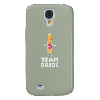 Team Bride Beerbottle Z5s42 Galaxy S4 Cases