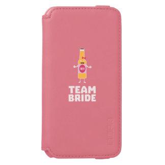 Team Bride Beerbottle Z5s42 Incipio Watson™ iPhone 6 Wallet Case
