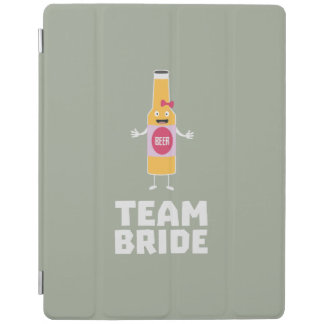Team Bride Beerbottle Z5s42 iPad Cover