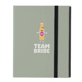 Team Bride Beerbottle Z5s42 iPad Folio Case