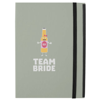"Team Bride Beerbottle Z5s42 iPad Pro 12.9"" Case"