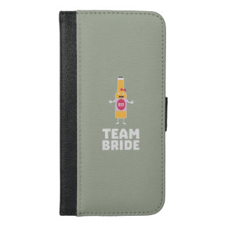 Team Bride Beerbottle Z5s42 iPhone 6/6s Plus Wallet Case
