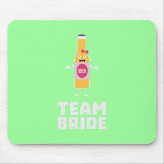 Team Bride Beerbottle Z5s42 Mouse Pad