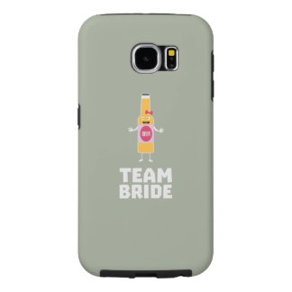 Team Bride Beerbottle Z5s42 Samsung Galaxy S6 Cases