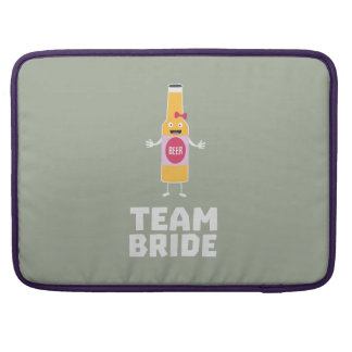 Team Bride Beerbottle Z5s42 Sleeve For MacBook Pro
