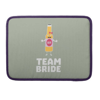 Team Bride Beerbottle Z5s42 Sleeve For MacBooks