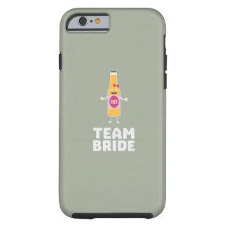 Team Bride Beerbottle Z5s42 Tough iPhone 6 Case