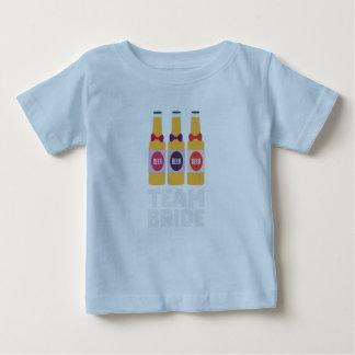 Team Bride Beerbottles Z26ll Baby T-Shirt