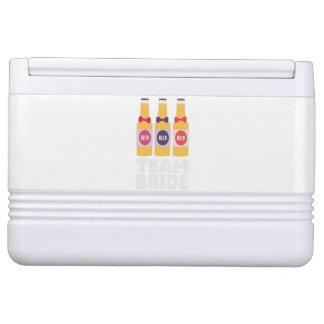 Team Bride Beerbottles Z26ll Cooler