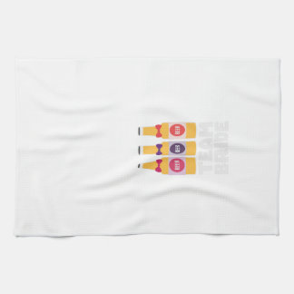 Team Bride Beerbottles Z26ll Tea Towel