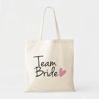 """""""Team Bride"""" Bridesmaid Budget Tote Bag"""