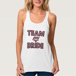 Team Bride Bridesmaid funny women's Bachelorette Singlet