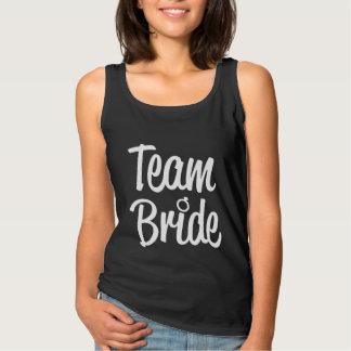 Team Bride Bridesmaid women's tank top