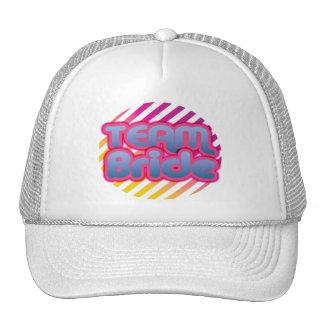 Team Bride Bridesmaids bachelorette wedding party Hat