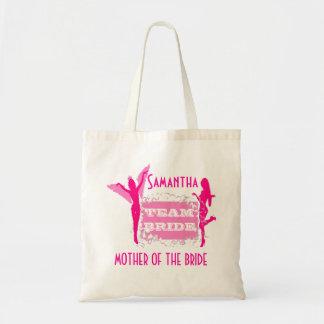 Team Bride bridesmaids Budget Tote Bag