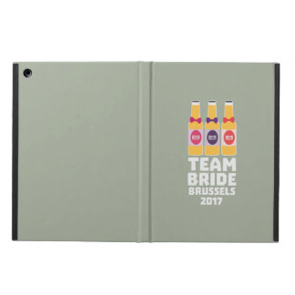 Team Bride Brussels 2017 Zfo9l iPad Air Cover
