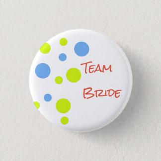 Team Bride Button Pin