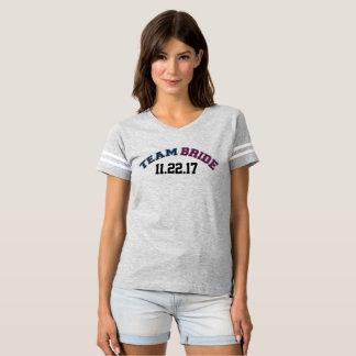 Team Bride Captain See Back T-Shirt