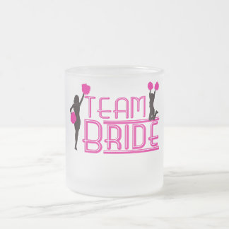 Team Bride - cheerleaders Mugs