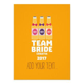 Team Bride Croatia 2017 Z6na2 Card