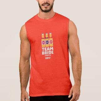 Team Bride Croatia 2017 Z6na2 Sleeveless Shirt