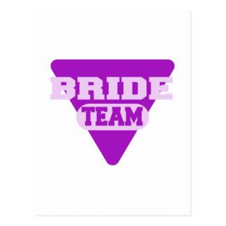 Team Bride design Postcard