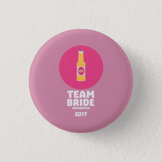 Team bride Edinburgh 2017 Henparty Z513r 3 Cm Round Badge