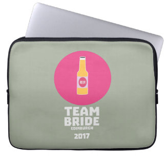 Team bride Edinburgh 2017 Henparty Z513r Laptop Sleeve